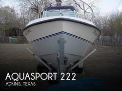 1989 Aquasport  222 Express Fisherman