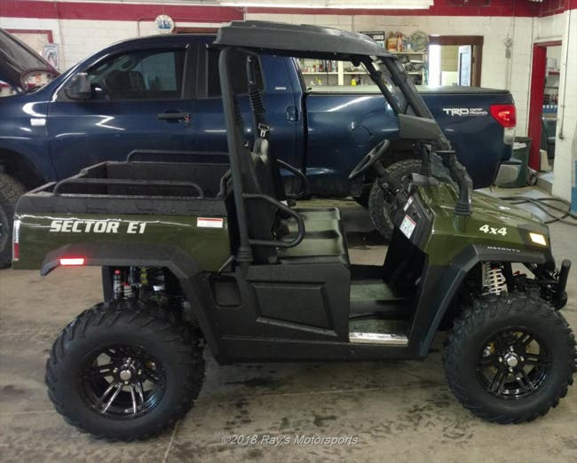 Hisun Sector E1 New Lexington Ohio | Ohio ATV, Ray's Motorsports
