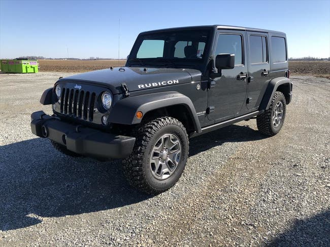 2017 JEEP RUBICON WRANGLER UNLIMI