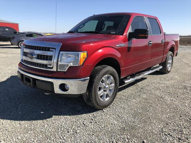 2013 FORD SUPERCREW F150