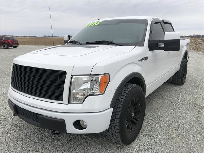 2010 FORD SUPERCREW F150