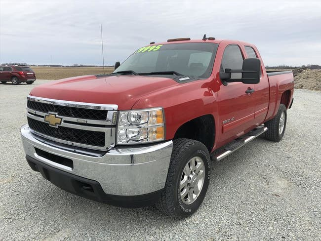 2011 CHEVROLET HEAVY DUTY LT SILVERADO 2500