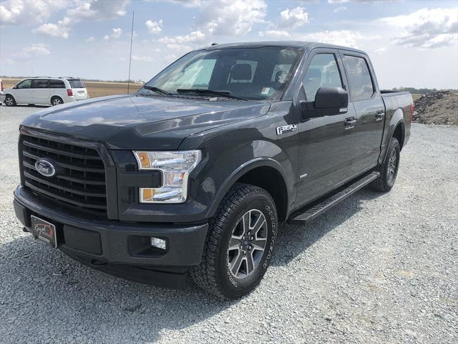 2017 FORD SUPERCREW F150